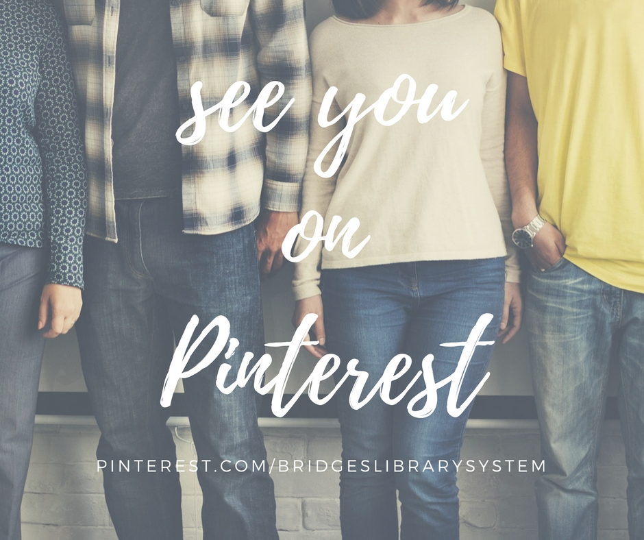"Stock photo of people standing in a line. Caption reads ""See you on Pinterest"" with link to Pinterest"