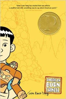 """Cover of """"American Born Chinese"""" book"""