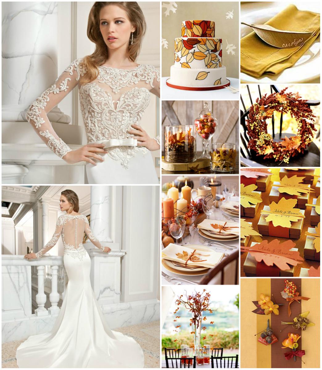 Nuntă toamna Nuntă toamna? Poartă rochii cu aer romantic!