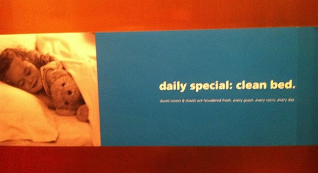 Daily Special: Clean Bed