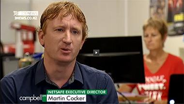 Campbell Live talks to Martin Cocker