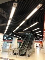 Реечный потолок пластинообразного типа