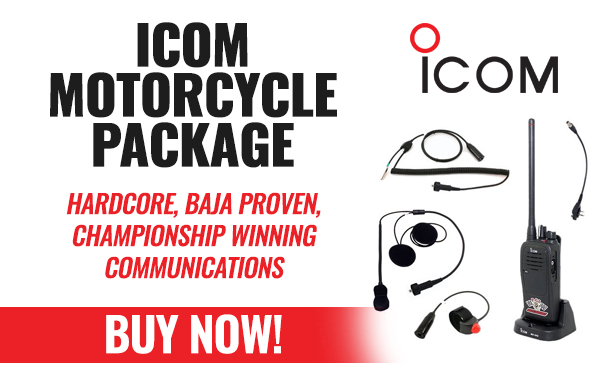 Icom Motorcycle/Quad Package