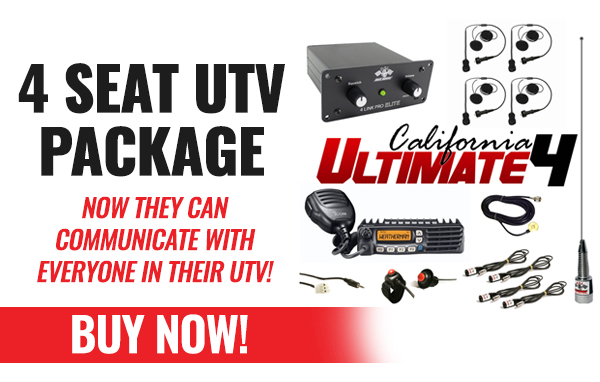California Ultimate 4 UTV Package