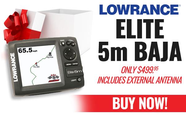 Lowrance Elite 5m Baja