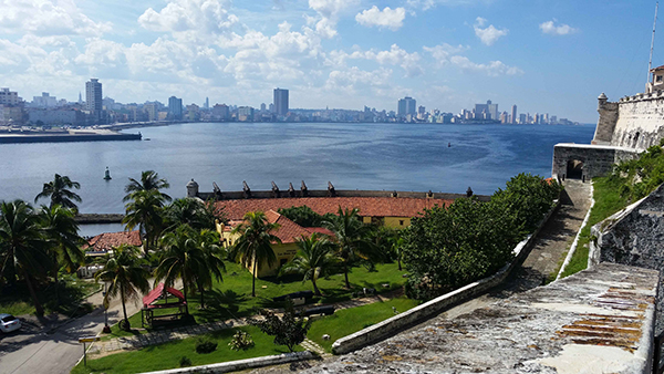 Schönes Wetter in Cuba