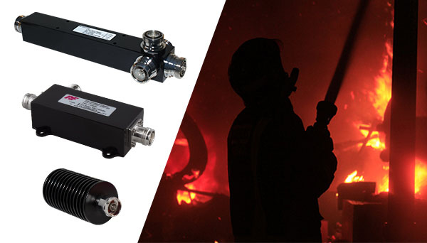 Power Splitter, Directional Coupler, Termination Load and Fire Fighter