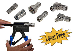 CompPro Compression Connectors, Tool and Low Price
