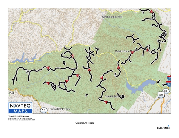 Trails in the All Trails Challenge