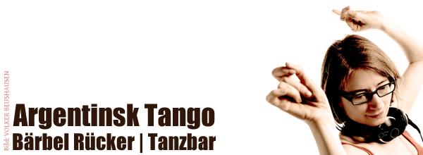 Argentinsk Tango :: Bärbel Rücker | Tanzbar
