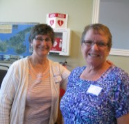 NFU members Barb Somerville (NB) and Edith Ling (PEI)