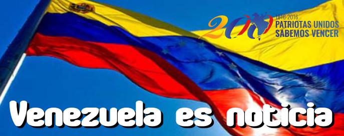 Boletín diario de noticias de Venezuela