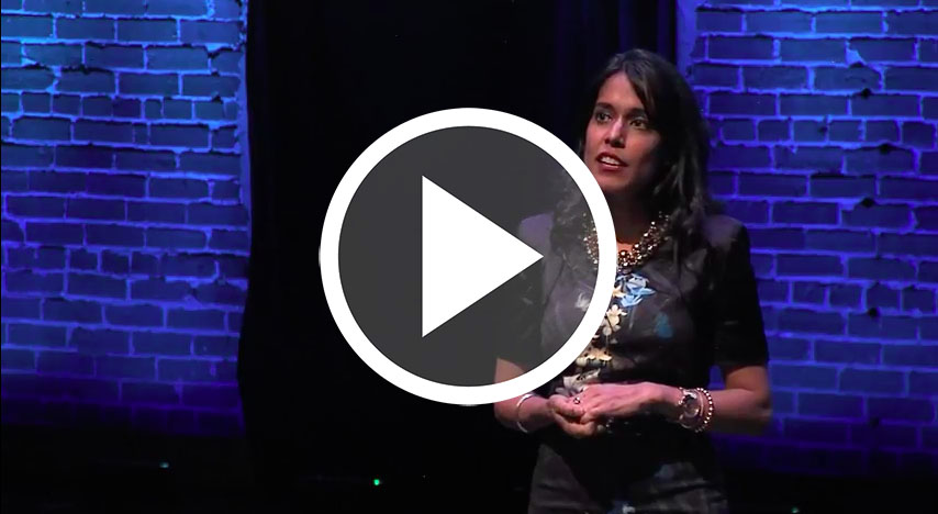 Ritu Bhasin speaks at The Walrus Talks Resilience