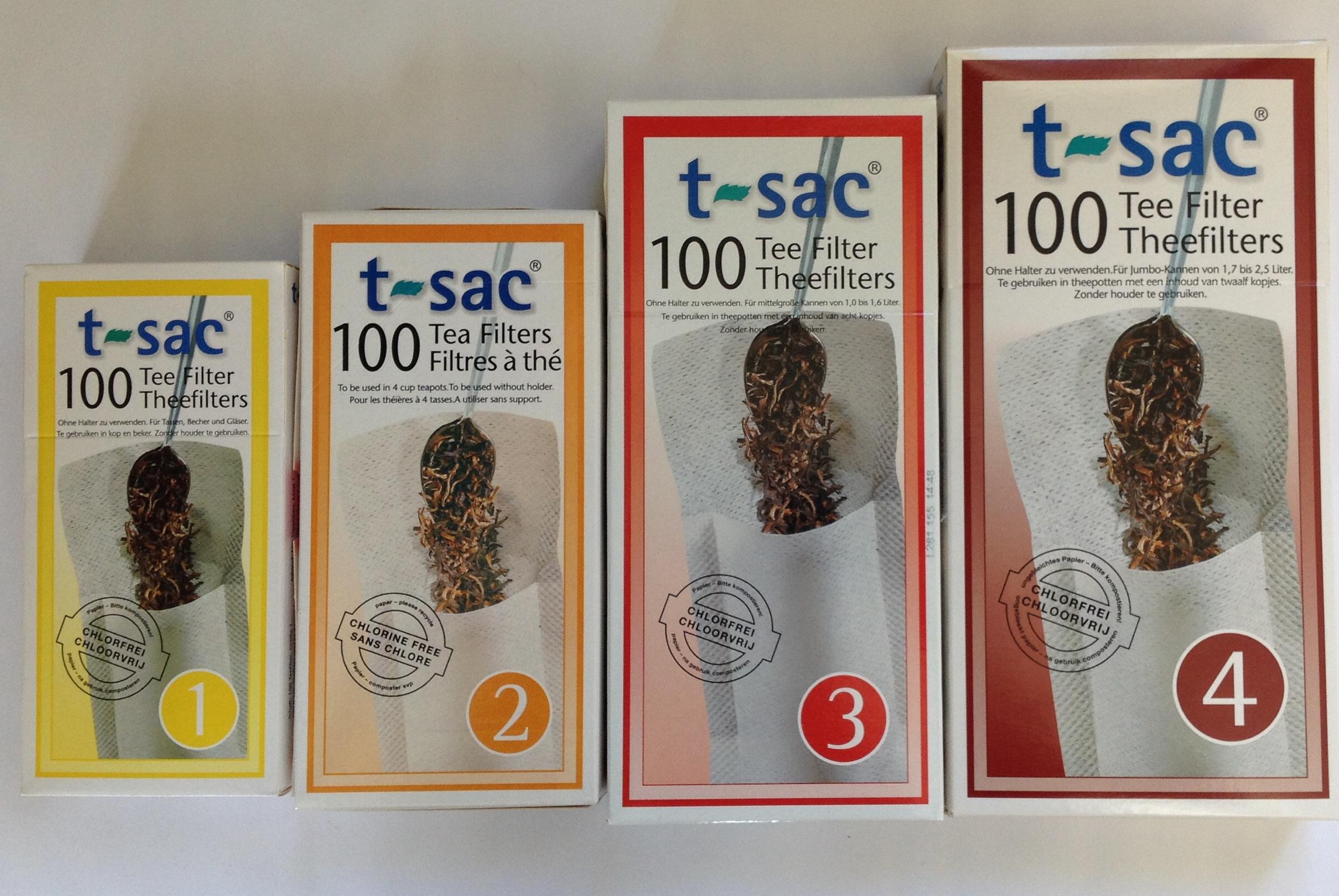 T-Sac Loose Tea Filters