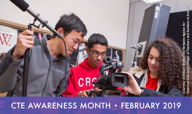 CTE Awareness Month, February 2019