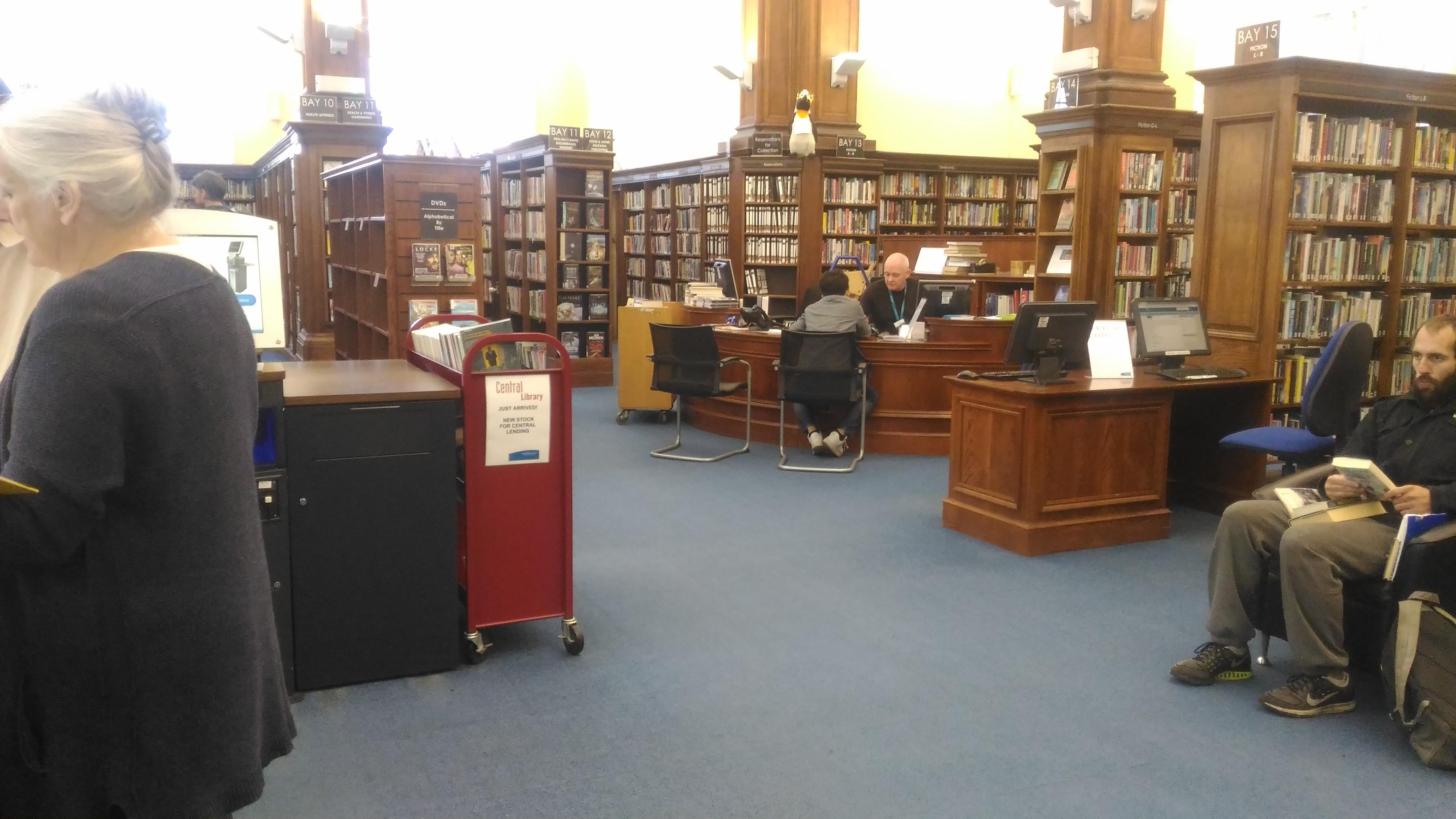 Biblioteca Nacional d'Escòcia, Edimburg. Fotografia© Josep Maria Aymà Aubeyzon