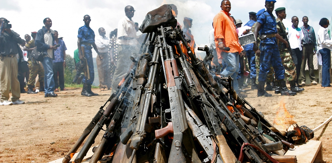 Silencing the guns in Africa by 2020