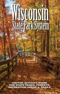 Wisconsin State Park Guide Cover by Michael Knapstein