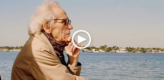 Christo sails back to Surrounded Islands, Florida's most celebrated art installation