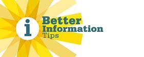 Better Information Tips
