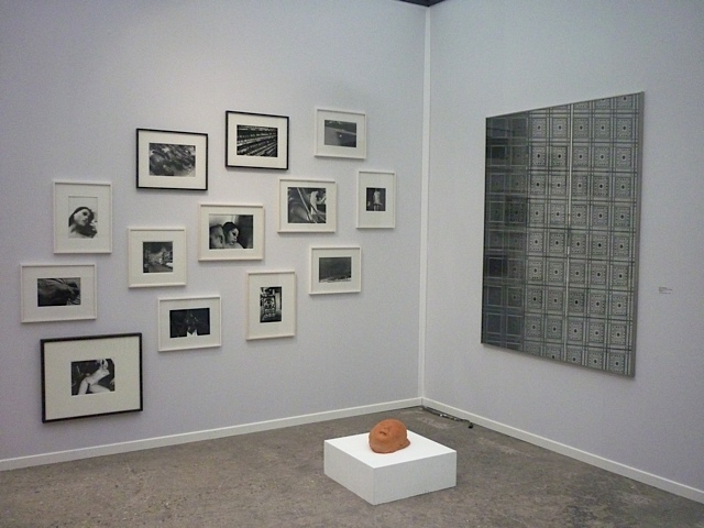 Booth at Art Paris fair