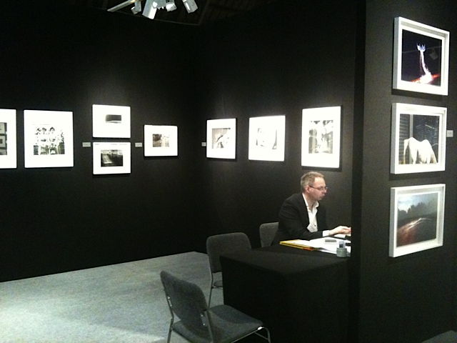 Booth at AIPAD fair 2011