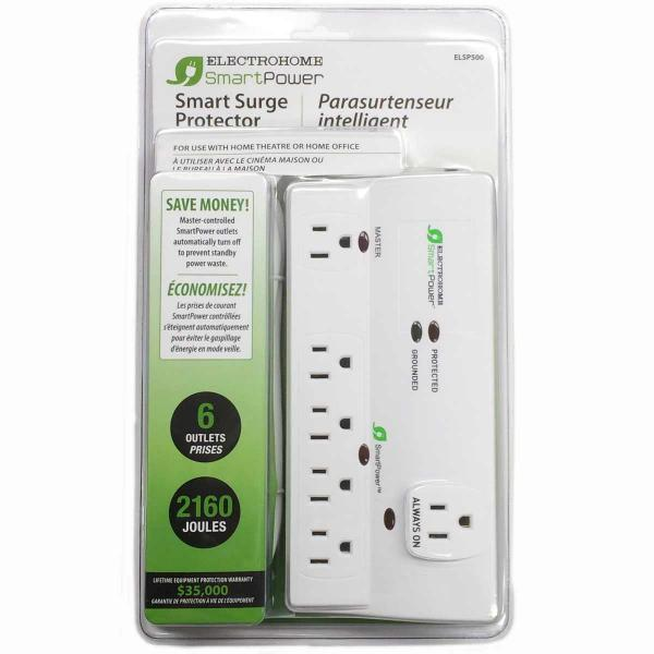 Electrohome® SmartPower Surge Protector