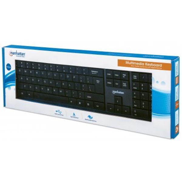 Manhattan USB Multimedia Keyboard