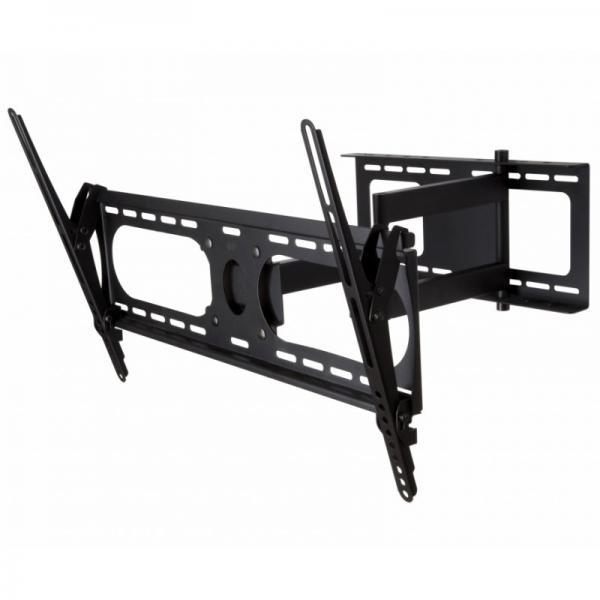 """37""""-80"""" Large Tilt & Swing Flat Screen TV Wall Bracket"""