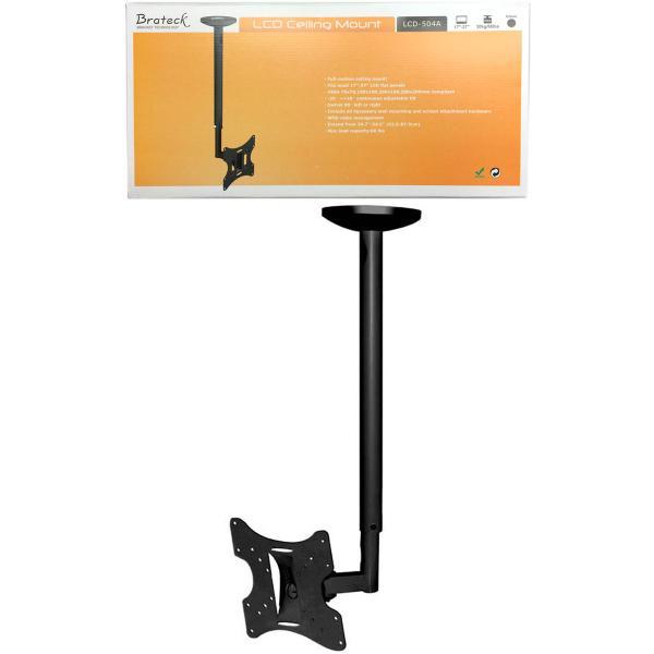 """23-43"""" Full Motion Ceiling Mount for LCD/Plasma TVs"""