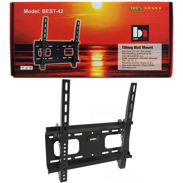 Tilting Universal LCD/Plasma TV Wall Mount Bracket