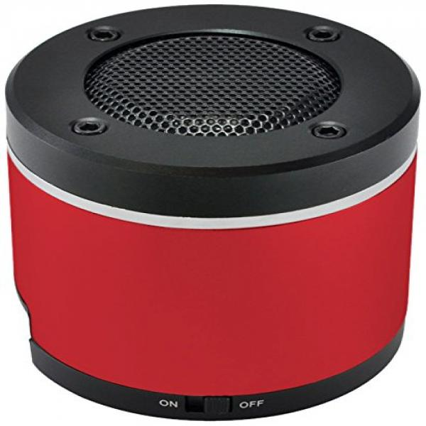 GearHead Mini Bluetooth Speaker - Red