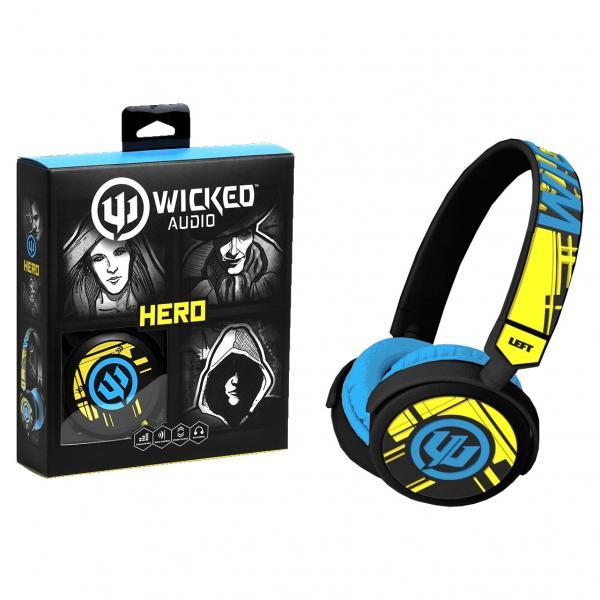 "Wicked Audio ""Hero"" Stereo Headset"
