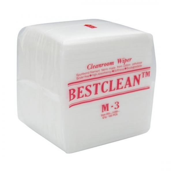 Cleanroom Wipes - 250mm x 250mm - 100 Pack