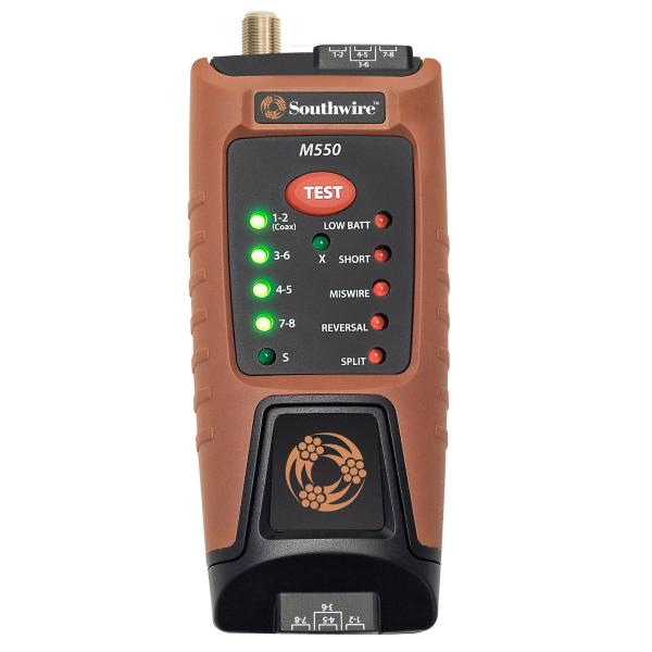 Southwire Data & Video Cable Tester (RJ45 & Coax)