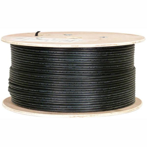 1000' Outdoor Shielded CAT5e Network Cable with Messenger
