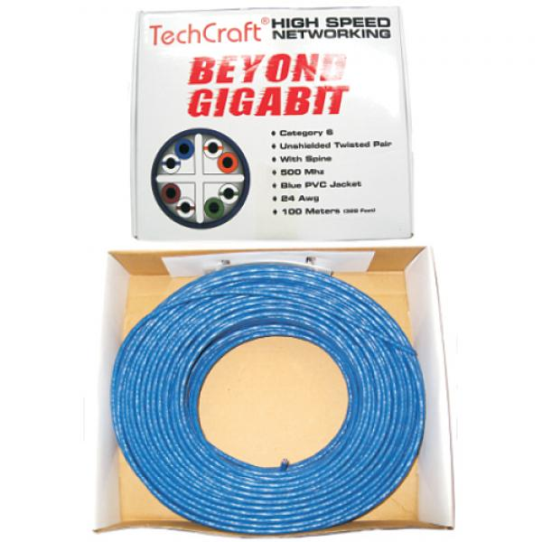 330 ft. CAT6 FT4/CMG Network Cable - Blue