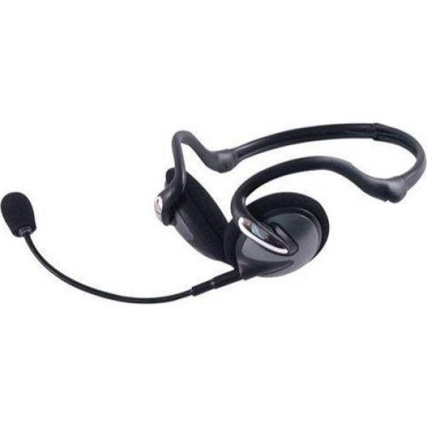 GE Computer Headset with detachable Microphone