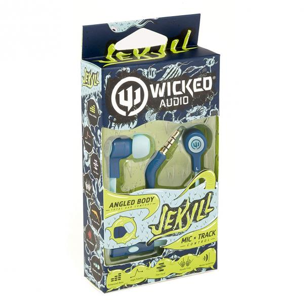 "Wicked Audio ""Jekyll"" Earbuds w/ Microphone"