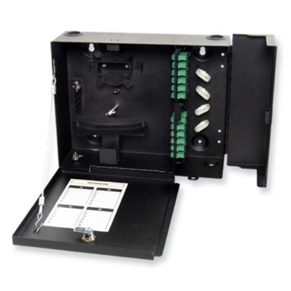 Fiber Optic Wall Mount Enclosure With LGX Adapter Panels