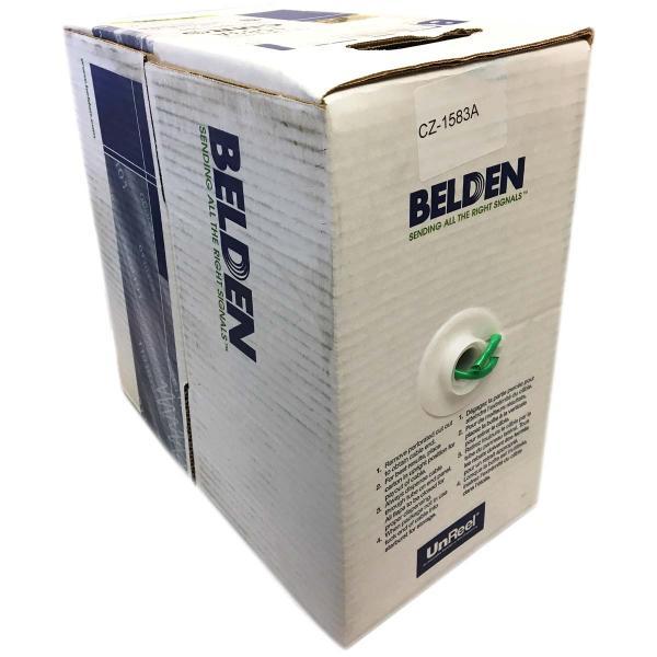 1000 ft. Belden Cat 5e CMR Network Cable
