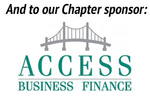 Thank you to our Chapter sponsor: Access Business Finance.