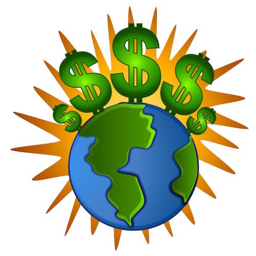Global cash flow.