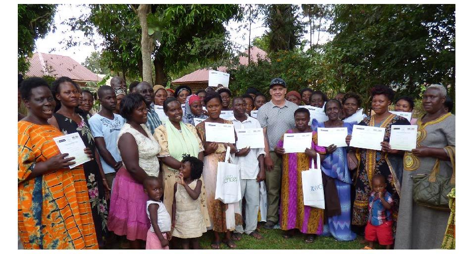 Uganda soil training