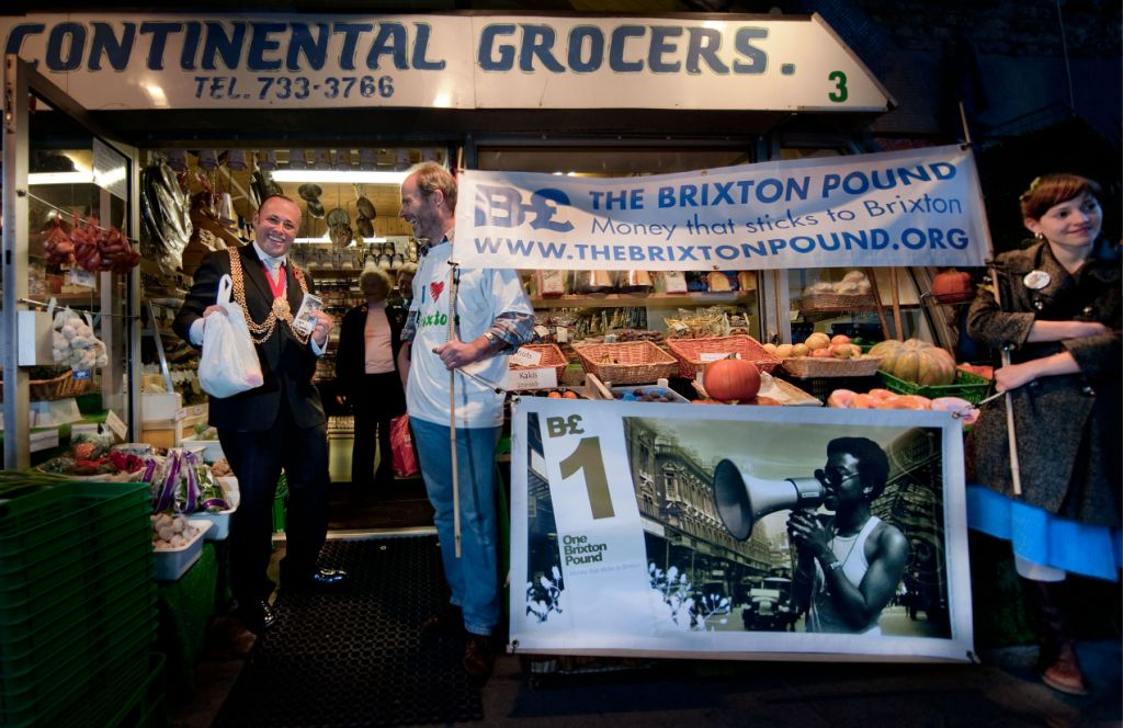 The mayor on a B£ shopping spree in Brixton