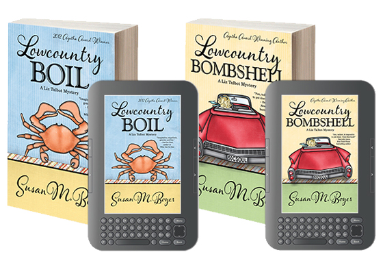 Lowcountry Boil and Lowcountry Bombshell by Susan M. Boyer