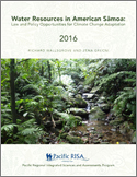 Water Resources in American Samoa: Law and Policy Opportunities for Climate Change Adaptation