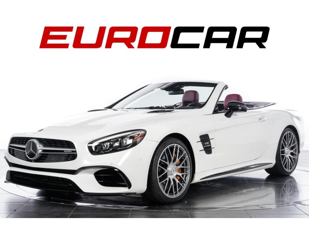 2017 Mercedes-Benz SL63 AMG (carbon ceramic brakes, $172,575.00 MSRP) Convertible