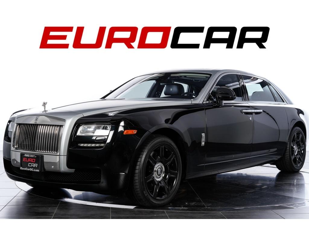 2012 Rolls-Royce Ghost EWB Sedan