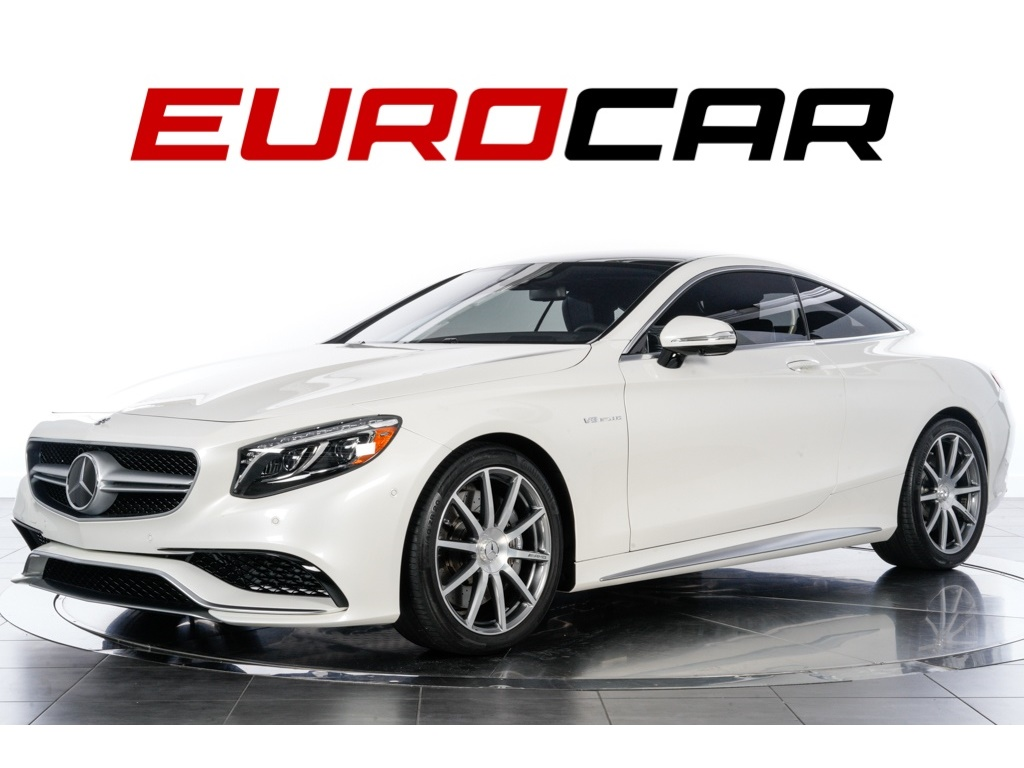 2017 Mercedes-Benz S63 AMG Coupe ($181,370.00 MSRP) Coupe